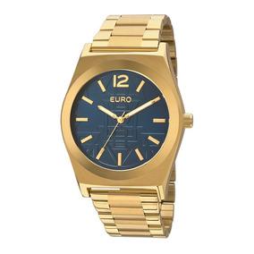 Relógio Feminino Euro Premium Tribal Eu2036jg/4a Dourado E A
