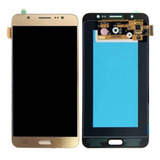 Tela Touch Display Lcd Samsung Galaxy J7 Metal Dourado