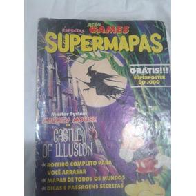 Revista Ação Games Super Mapas Edição 5-e