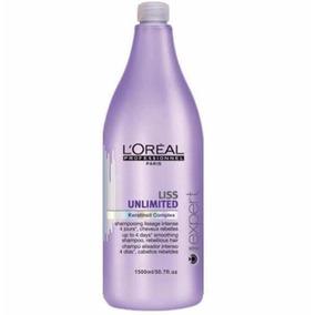 Loreal Expert Liss Unlimited Shampoo 1500ml Original