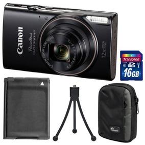 Canon Powershot Elph 360 Hs Wi -fi Digital Cámara ( Negro )