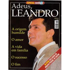 Revista Especial Contigo! Adeus Leandro - Grátis Poster!