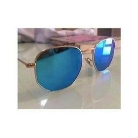 Oculos De Sol Hexagonal Lente De Cristal - Óculos no Mercado Livre ... b6204292b5