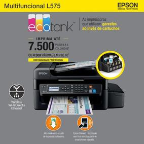 Multifuncional Tanque De Tinta Color L575 Wi-fi Bivolt Epson