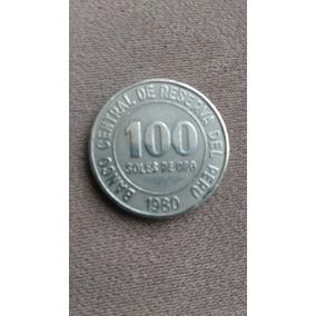 Moeda Peruana 100 Solos De Oro