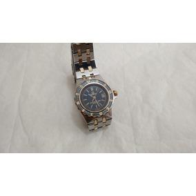 Reloj Omega Seamaster 120m Quartz Dama Acero-oro 18k