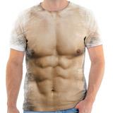 Camiseta Camisa Personalizada Corpo Musculoso Malhado Barrig c3f10824758