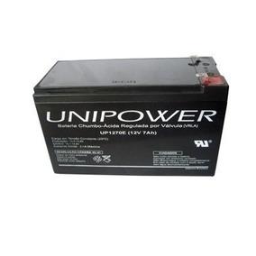 Bateria Nobreak Apc Be600 Br1200 Br1500 Unipower 12v 7ah