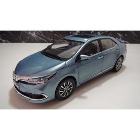 Toyota Corolla Hibrids Ano 2014/.. Esc 1:18 Cor Azul Paudi