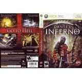 Juego Dantes Inferno Xbox 360 Usado Original