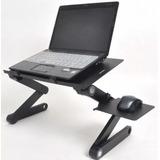 Mesa Cooler De Metal Para Laptop Posa Mouse 2 Ventilador Isc