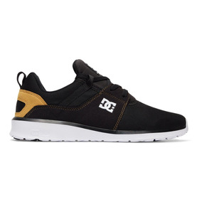 Tenis Hombre Heathrow Adys700071 Bt0 Negro Dc Shoes