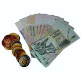 Monedas Y Billetes Uruguayos De Juguete   Escool