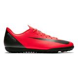Zapatillas Futbol Nike Mercurial Vaporx 12 Club Cr7 Tf Grass