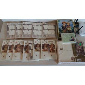 Lote 01 - Lote Papel Papéis De Carta Hummel