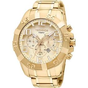 Relógio Technos Masculino Legacy Os20ik/4x Dourado