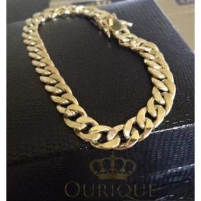 042858bffa8 Ourique Pulseira Ouro - Pulseiras e Braceletes no Mercado Livre Brasil