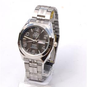 Relógios Pulso Masculino Dourado Clássico Social Barato.
