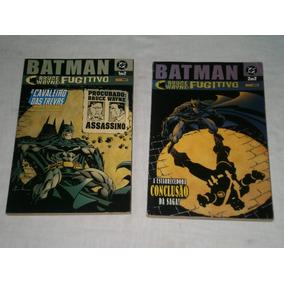 Batman - Bruce Wayne Fugitivo Em 2 Partes