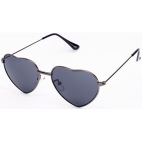 Óculos De Sol Coração Infantil Juvenil Feminino Lentes Uv400 d9e8fcaf31