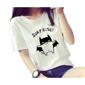 Camiseta Feminina Tumblr - Camisetas Outros no Mercado Livre Brasil 6339385cb12