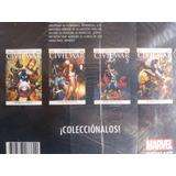 Marvel, Civil War, Saga 4 Cómics Completa Nuevos.