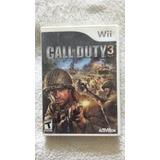 Call Of Duty 3 Nintendo Wii Y Wii U