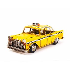 Miniatura Taxi Driver Nyc New York Amarelo Anos 70