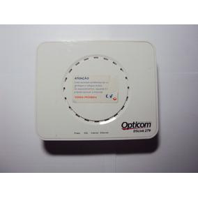 Modem Roteador Opticom Dslink 279 - Sem Fonte