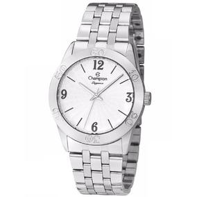 f5e12d921940f Relogio Champion Elegance Prateado Feminino - Relógios De Pulso no ...