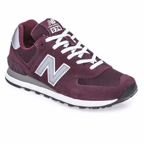 New Balance 574 Bordo - Zapatillas New Balance Urbanas en Mercado ... 1feda08e4a