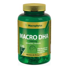 Omega 3 60/15 1000mg 120cps (macro Dha) Macrophytus®