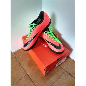 234839a4ab Chuteira Nike Laranja Com Verde - Chuteiras Nike de Society no ...