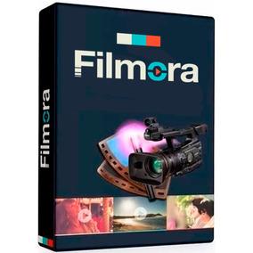 Filmora Editor De Vídeos + Todos Os Pacotes De Efeitos