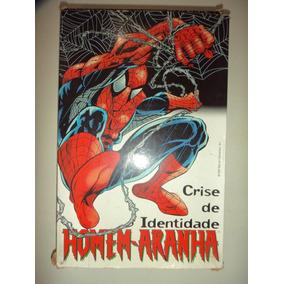 Homem Aranha Crise De Identidade Com Box Editora Abril 1999