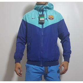 Campera Rompeviento Barcelona Fc Nike Azul Turqueza 2019.   2.190. Envío  gratis 4e843ffccc8ad
