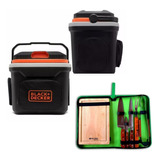 Mini Geladeira Portátil 24 L Black&decker 12v + Kit Facas