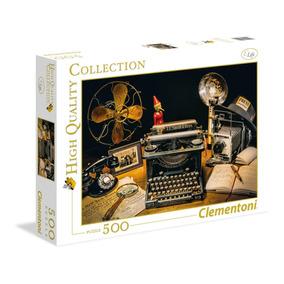 Quebra Cabeça Clementoni 500 Pçs Máquina De Escrever Puzzle