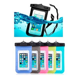 Funda Contra Agua Universal iPhone Galaxy Sumergible Colore