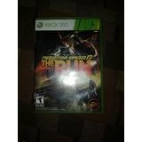 Juego De Xbox 360 Need For Speed Run