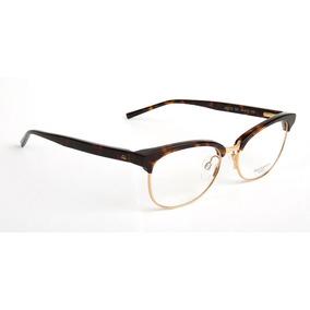 02389ae3b9a4e Armação Oculos Grau Ana Hickmann Ah1312 G21 Marrom Tartaruga