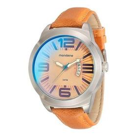 f2bb8b49728 Relogio Mondaine Cor Laranja - Joias e Relógios no Mercado Livre Brasil