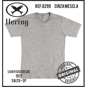 3fd85dfd07 Camiseta Hering Combo 4 Peças Manga Curta Original Ref.0299