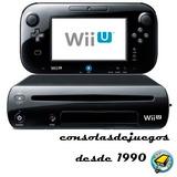 Nintendo Wii U Reacondicionadas 5 Juegos A Eleccion Gtia