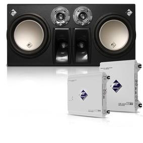 Caixa Cxp12 900w + Módulos Hs400.4 Dx E Df600.1dx Falcon