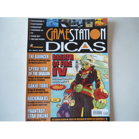 Revista Gamestation Breath Of Fire