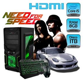 Cpu Gamer Need For Speed Core I5 8gb Disco 1tb Gabinete Kit
