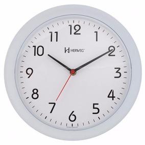 075bbb8f8af Relogio De Parede Herweg 6634 - Relógios no Mercado Livre Brasil