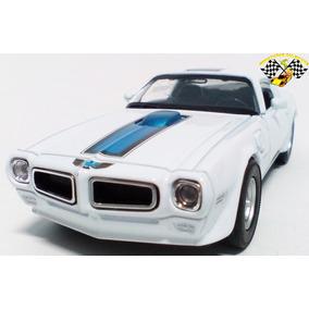 Miniatura Pontiac Firebird Trans Am 1972 Branco 1:34