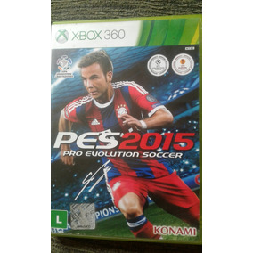 Jogo Xbox 360 Pes 2015